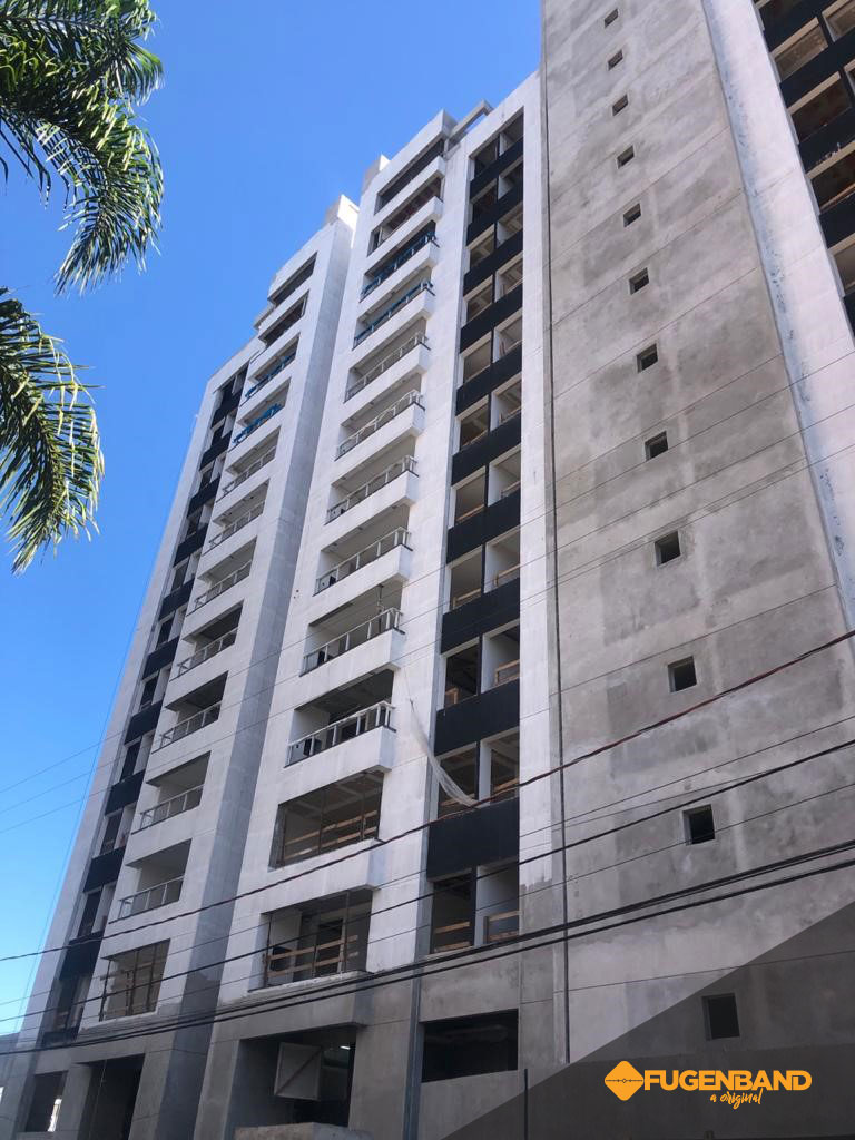 fachada do edifio alamo residence em blumenau/SC